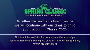 Mecum Gone Farmin' 2020 Spring Classic TV Spot, 'The Spring Classic Will Continue' - Thumbnail 3