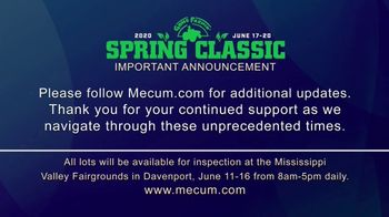 Mecum Gone Farmin' 2020 Spring Classic TV Spot, 'The Spring Classic Will Continue' - Thumbnail 4