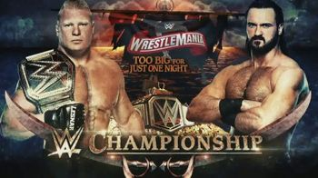 WWE Network TV Spot, 'WrestleMania 36' [Spanish] - 2 commercial airings
