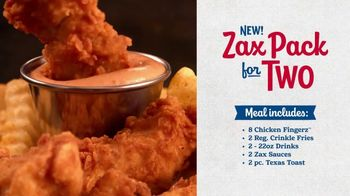 Zaxby's Zax Pack for Two TV Spot, 'You Don't Have to Share' - Thumbnail 4