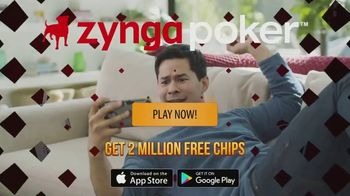 Zynga Poker TV Spot, 'Live' - Thumbnail 9
