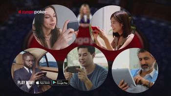 Zynga Poker TV Spot, 'Live' - Thumbnail 1