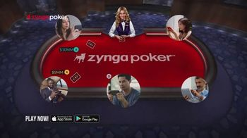 Zynga Poker TV Spot, 'Live' - Thumbnail 2