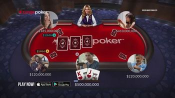 Zynga Poker TV Spot, 'Live' - Thumbnail 3