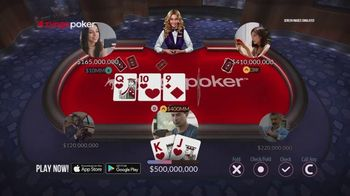 Zynga Poker TV Spot, 'Live' - Thumbnail 4
