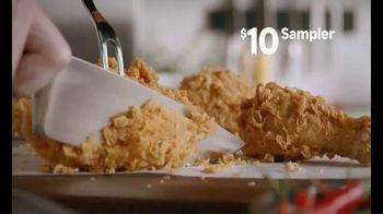 Popeyes $10 Sampler TV Spot, 'Something for Everyone' - Thumbnail 2