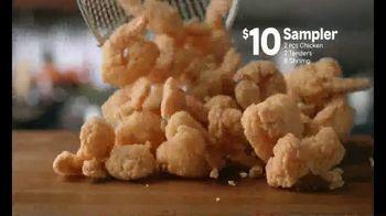 Popeyes $10 Sampler TV Spot, 'Something for Everyone' - Thumbnail 4