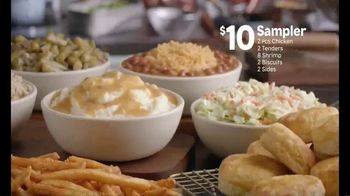 Popeyes $10 Sampler TV Spot, 'Something for Everyone'