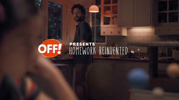 Off! FamilyCare Smooth & Dry TV Spot, 'Homework Reinvented' - Thumbnail 2