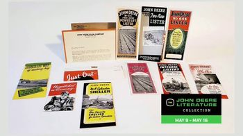 Mecum On Time Auctions TV Spot, 'John Deere Literature Collection' - Thumbnail 3