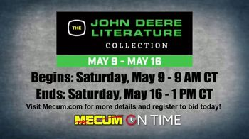 Mecum On Time Auctions TV Spot, 'John Deere Literature Collection' - Thumbnail 7