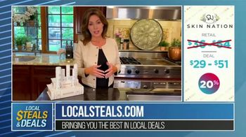 Local Steals & Deals TV Spot, 'Skin Nation' Featuring Michelle Stafford, Lisa Robertson - Thumbnail 10