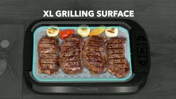 Power XL Smokeless Grill TV Spot, 'Smoke-Extracting Technology'
