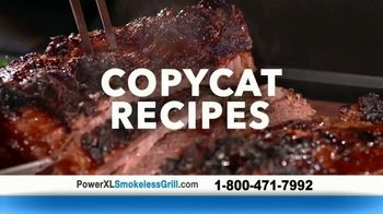Power XL Smokeless Grill TV Spot, 'Smoke-Extracting Technology' - Thumbnail 7