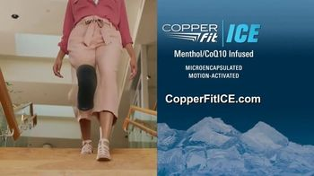 Copper Fit ICE Knee Sleeves TV Spot, 'Menthol and CoQ10' - Thumbnail 10