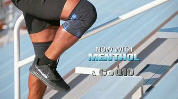 Copper Fit ICE Knee Sleeves TV Spot, 'Menthol and CoQ10' - Thumbnail 4