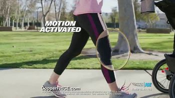 Copper Fit ICE Knee Sleeves TV Spot, 'Menthol and CoQ10' - Thumbnail 5