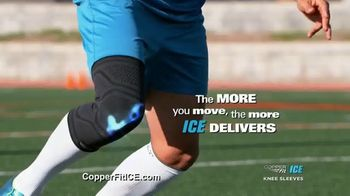 Copper Fit ICE Knee Sleeves TV Spot, 'Menthol and CoQ10' - Thumbnail 6