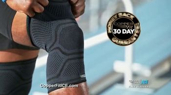Copper Fit ICE Knee Sleeves TV Spot, 'Menthol and CoQ10' - Thumbnail 9