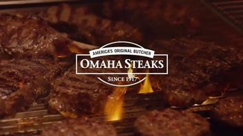 Omaha Steaks Summer Stock Up Event TV Spot, 'Grilling Season: Free Dessert & Shipping' - Thumbnail 1