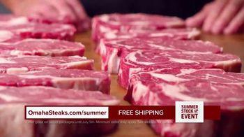 Omaha Steaks Summer Stock Up Event TV Spot, 'Grilling Season: Free Dessert & Shipping' - Thumbnail 3