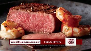 Omaha Steaks Summer Stock Up Event TV Spot, 'Grilling Season: Free Dessert & Shipping' - Thumbnail 5