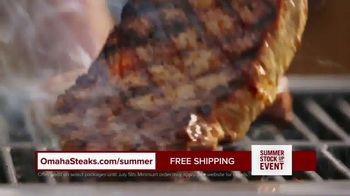 Omaha Steaks Summer Stock Up Event TV Spot, 'Grilling Season: Free Dessert & Shipping' - Thumbnail 6