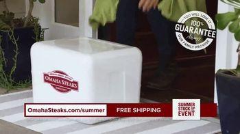 Omaha Steaks Summer Stock Up Event TV Spot, 'Grilling Season: Free Dessert & Shipping' - Thumbnail 7
