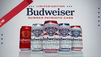 Budweiser Summer Patriotic Cans TV Spot, 'Memorial Day: Crack Open Summer'