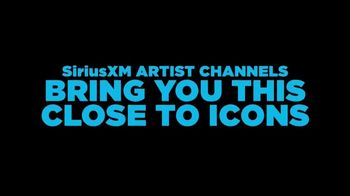 SiriusXM Satellite Radio TV Spot, 'Artist Channels: Listen Like Never Before' - Thumbnail 1