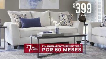 Rooms to Go Venta de Memorial Day TV Spot, 'Sofá, silla y tres mesas' [Spanish] - Thumbnail 5