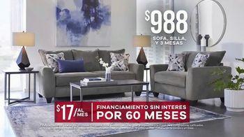 Rooms to Go Venta de Memorial Day TV Spot, 'Sofá, silla y tres mesas' [Spanish] - Thumbnail 8