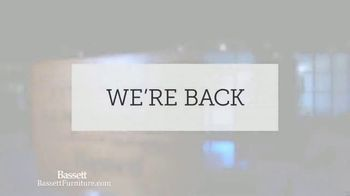 Bassett TV Spot, 'We're Back'