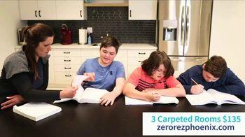 Zerorez TV Spot, 'Three Rooms for $135'