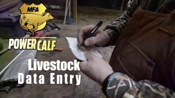 MFA Incorporated Power Calf TV Spot, 'Data Entry' - Thumbnail 2