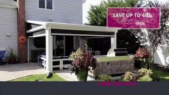 Four Seasons Sunrooms TV Spot, 'Let Freedom In: 40 Percent' - Thumbnail 8