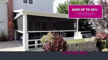 Four Seasons Sunrooms TV Spot, 'Let Freedom In: 40 Percent' - Thumbnail 9
