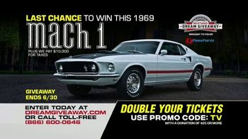 Dream Giveaway TV Spot, 'Mustang Mach I' - Thumbnail 10