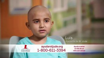 St. Jude Children\'s Research Hospital TV Spot, \'Luis\' [Spanish]