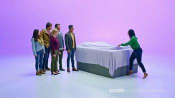 Purple Mattress SoftStretch Sheets TV Spot, 'Introducing' - Thumbnail 3