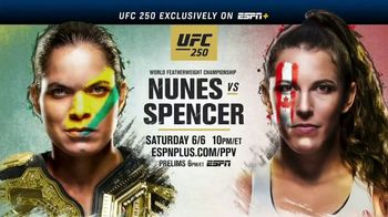 ESPN+ TV Spot, 'UFC 250: Nunes vs. Spencer' Song by Nelly