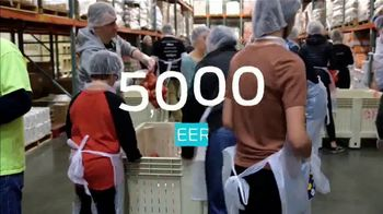 Ford Focus on Child Hunger TV Spot, 'Peanut Butter Drive: 5.9 Million Sandwiches Served' - Thumbnail 8