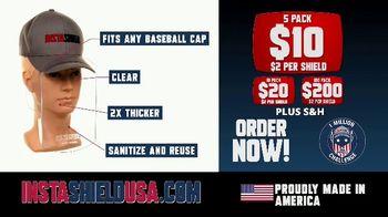InstaShield USA TV Spot, 'Fits Any Baseball Cap' - Thumbnail 7