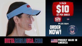 InstaShield USA TV Spot, 'Fits Any Baseball Cap' - Thumbnail 6