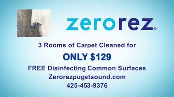 Zerorez TV Spot, 'Your Home Health Expert: 3 Rooms for $129' - Thumbnail 9