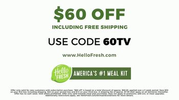 HelloFresh TV Spot, 'More Fresh Ingredients: $60' - Thumbnail 9