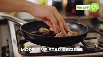 HelloFresh TV Spot, 'More Fresh Ingredients: $60' - Thumbnail 6