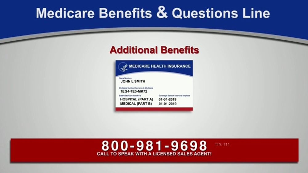 Medicare Benefits Helpline TV Commercial, 'Medicare Approved Benefits'