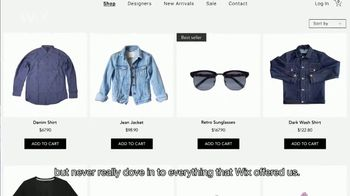 Wix.com TV Spot, 'This Clothing Gallery Evolved Online When COVID-19 Hit' - Thumbnail 4