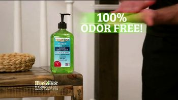 Handvana Hydroclean Hand Sanitizer TV Spot, 'Kills 99.9 Percent of Germs: $14.99' - Thumbnail 5